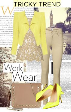 """Work Wear"" by livaaaa ❤ liked on Polyvore"