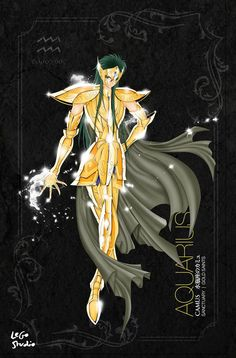 Saint Seiya Aquarius Camus