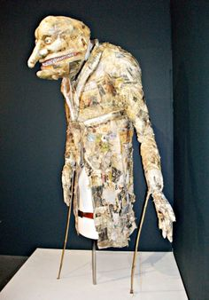 Puppet by Julian Crouch,artist, mask and puppet-maker