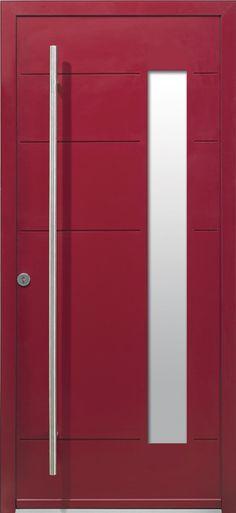 Modèle Harricana Porte du0027entrée aluminium classique mi vitrée - prix porte entree tryba