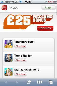 Virgin Mobile Casino goes live
