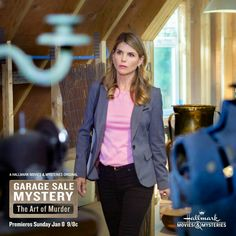 Lori Mystery Series, Mystery Books, Garage Sale Mystery, Hallmark Mysteries, Lori Loughlin, Hallmark Movies, Hallmark Channel, Full House, Movies To Watch