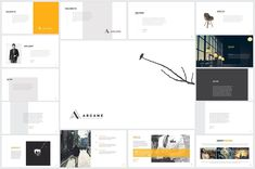 Arcane Powerpoint Presentation Templates Best ever simple and minimal powerpoint presentation template based on real topics. Super modern and by ThemeDevisers Presentation Design Template, Ppt Design, Presentation Slides, Powerpoint Presentation Templates, Free Design, Design Templates, Creative Powerpoint, Powerpoint Designs, Design Art