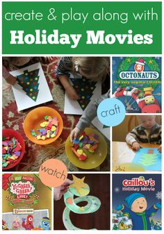 Toddler Approved!: Toddler Approved Holiday Movies {Create, Watch & Play}Check out this sponsored post with @NCircleE where we share some favorite holiday DVDs and activities to go along with them! There is also a giveaway of three cool holiday DVDs included!