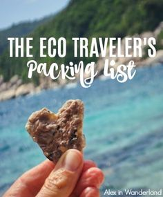 I'm always on the lookout for ways I can be more eco-friendly on my travels, and these are a few of the best items I've found to help me do it! | Alex in Wanderland