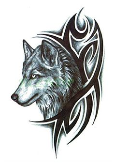 25 dreamcatcher wolf tattoo designs images and pictures. Black Bedroom Furniture Sets. Home Design Ideas