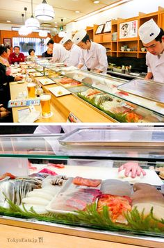 Sushi Sei - 寿司清本店 located in the middle of Tsukiji Market #Sushi