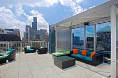 Read about EnV, a luxurious River North apartment building in Chicago.