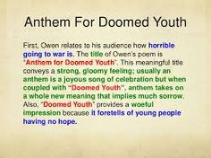 sean bean reads wilfred owen s anthem for doomed youth  anthem essay anthem for doomed youth essay help ssays for