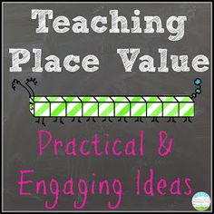 Teaching With a Mountain View: Teaching Place Value - jackpot of great ideas for place value