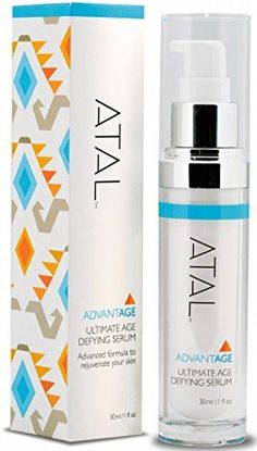 Anti Aging Serum by ATAL  Best Anti Wrinkle Moisturizer  Stimulates Collagen  Powerful Antioxidants  Firms  Hydrates Skin  Effective Skincare Product for Women  Men ** Want to know more, click on the image. (Note:Amazon affiliate link)