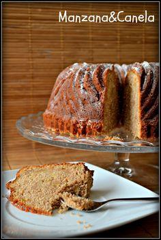 Bizcocho de Manzana y canela - Apple Bundt Cake
