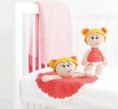 Ava the Girl Amigurumi Crochet Pattern