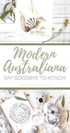 """Modern Australiana"" - Say goodbye to kitsch! Nursery Layout, Nursery Design, Nursery Themes, Nursery Decor, Nursery Ideas, Nursery Rugs, Project Nursery, Room Ideas, Decor Ideas"