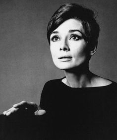 Audrey Hepburn in 1967 by Richard Avedon.
