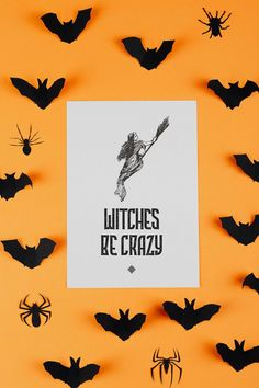 Free Witch Printables • Halloween Printables • Little Gold Pixel Printable Planner, Printable Art, Free Printables, Crafty Projects, Art Projects, Going For Gold, Getting Organized, Gift Tags, Coloring Pages