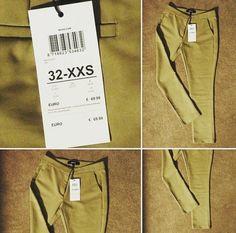 MEXX  Zeny ocenia oblecenie vhodne na viac prilezitosti. Tieto lezerno-sportove 3/4 khaki nohavice su presne takym kuskom. Sedia na velkost S a navyse krasne tvaruju postavu.  Cena: 24 eur
