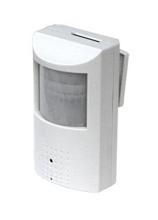 All-in-one PIR Motion Detector Hidden Camera w/ DVR (Low Light): Features a built-in video receiver with SD storage. You don't need a computer to use it. No digital wireless transmission.