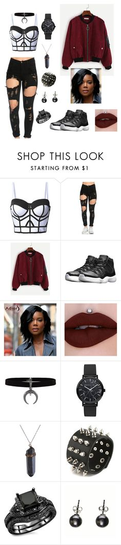 """""""Untitled #66"""" by gissellebeltre on Polyvore featuring NIKE and Black"""