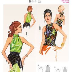 Burda Style Pattern 6968 Vintage