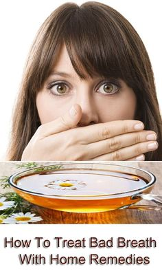 home remedies for bad breath halitosis