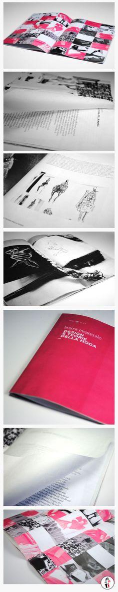 #IUAV #university #fashion graduation #brochure