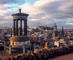 """Scotland • Travel • Nature on Instagram: """"▪ Calton Hill is a mix of bustling commercial areas and quiet residential streets. The hill itself, with its city views, is home to the…"""" Scotland Nature, Scotland Travel, Edinburgh City, Edinburgh Scotland, Edinburgh Festival, City Breaks Uk, Detroit Hotels, Shanghai Hotels, Classic Architecture"""