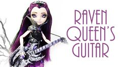 How to make Raven Queen's Guitar [EVER AFTER HIGH]