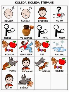 Pro Štípu: Básničky i pro autíky School Humor, Pictogram, Funny Kids, Preschool, Teaching, Activities, Education, Logos, Autism