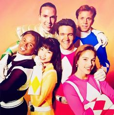 Image in Childhood collection by Kim Johnston Power Rangers Timeline, Power Rangers 2017, Pink Power Rangers, Jason Lee Scott, Jason David Frank, Selena, Original Power Rangers, Amy Jo Johnson, Power Rengers