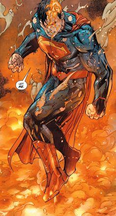 Superman by Tony S. Dc Comics Art, Fun Comics, Marvel Dc Comics, Superman Man Of Steel, Batman Vs Superman, Superman Family, Spiderman, Comic Art Fans, Superman Wallpaper