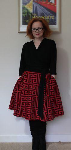 Ozzy Blackbeard: Butterick B6285 - I made an outfit!