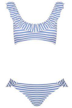 Love this striped bikini!