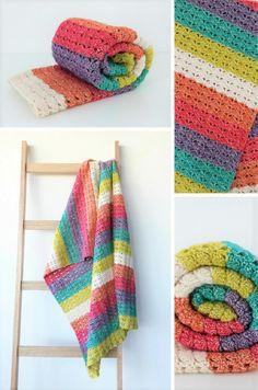 New crochet pattern: Sea Shell Blanket