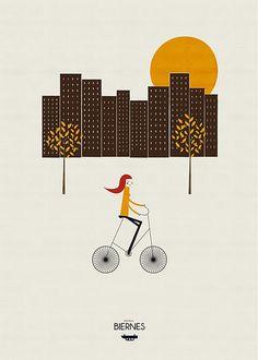 Bike illustration by blancucha