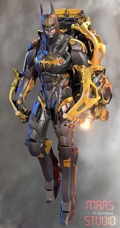 Photo - Batman Canvas Art - Trending Batman Canvas Art - Batman jetpack by Batman Armor, Im Batman, Spiderman, Batgirl, Catwoman, Batman Concept, Concept Art, Batman Redesign, Batman Kunst