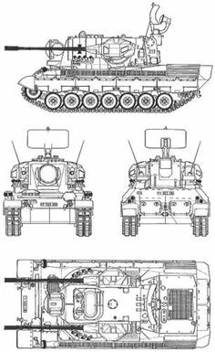 Tank photo German Flakpanzer Gepard Army Vehicles, Armored Vehicles, Military Drawings, Armored Fighting Vehicle, Ww2 Tanks, Military Helicopter, Battle Tank, Military Equipment, Technical Drawing