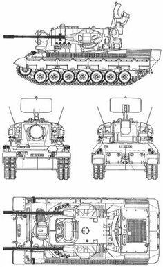 Tank photo German Flakpanzer Gepard