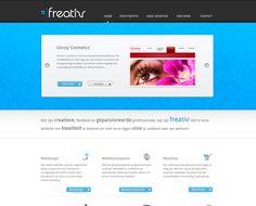Website Freativ.nl (wordt binnenkort vervangen door een nieuwe ontwerp)