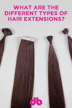 What Are the Different Types of Hair Extensions? What are the different types of Hair Extensions? Micro Bead Hair Extensions, Types Of Hair Extensions, Bella Hair Extensions, Best Professional Makeup Brushes, Natural Hair Styles, Long Hair Styles, Hair Blog, Hair Hacks, Hair Tips