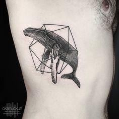 lcosahedron.  http://www.instagram.com/okanuckun,  ... - Okan Uckun Minimal & Geometric Tattoos