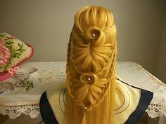 Trança indiana passo a passo - Cage braid ponytail | wonderful hairstyle | step by step - YouTube