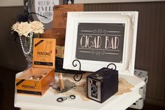 Black, White, & Blush 1920s Wedding Inspiration | Every Last Detail