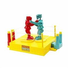 Shop - Mattel - Rock 'Em Sock 'Em Robots - Red Rocker and Blue Bomber. Free delivery and returns on eligible orders of or more. 1970s Toys, Retro Toys, Retro Games, Elmo, Toy Story, Red Rocker, Battle Robots, Bratz, Fighting Robots