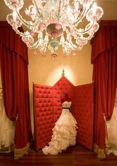 Aimee Bridal Boutique Interiors