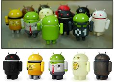 Android figurines :D