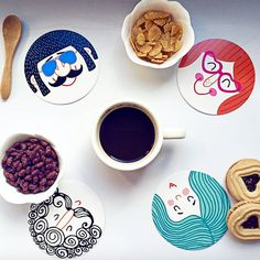 Image credit: breakfast_and_coffee   #tigerstores #tigercoffee #breakfastwithtiger #yum #fun #faces #food #coffee #foodie