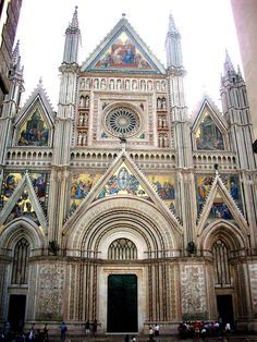italian architecture | Ancient architecture : Orvieto Cathedral (Photo I0CG)