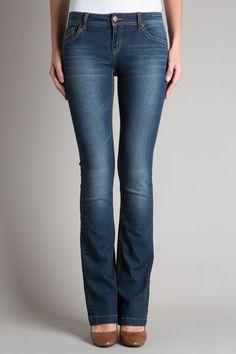 Jeans bootcut femme esprit