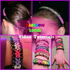Rainbow Loom Bracelets & More Video Tutorials